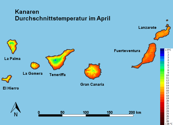 wetter lanzarote april