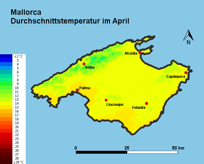 Mallorca Im April