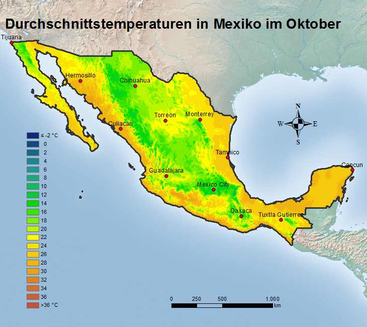 Wetter Mexico